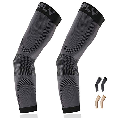 TOFLY Compression Arm Sleeve for Men Women