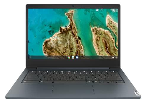 Lenovo IdeaPad 3 Chromebook - Pantalla de 14' HD (procesador Intel Celeron N4020, 64 GB eMMC, RAM 8 GB, Chrome OS) - Abyss Blue