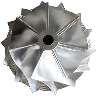 GENERIC RHF5HB 46.50/59.94mm 7+7 blades high performance Turbocharger Billet/milling/aluminum 2618 compressor wheel for SUBARU VF30/VF34/VF35/VF36/VF37/VF39/VF41/VF42/VF43/VF48/VF52