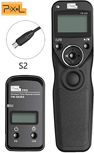 Pixel TW-283/S2 Wireless Shutter Release Timer Remote Control for Sony Digital Camera a7...