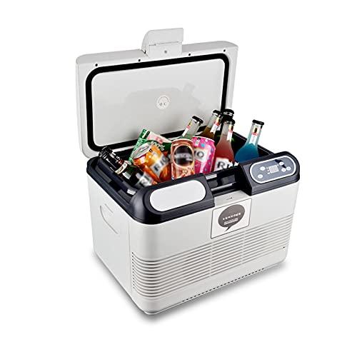 LK-HOME Mini Nevera, Compresor De Refrigerador De Automóvil De 15 L, Refrigerador Pequeño Portátil, Adecuado para El Dormitorio del Automóvil Silencioso Y Portátil