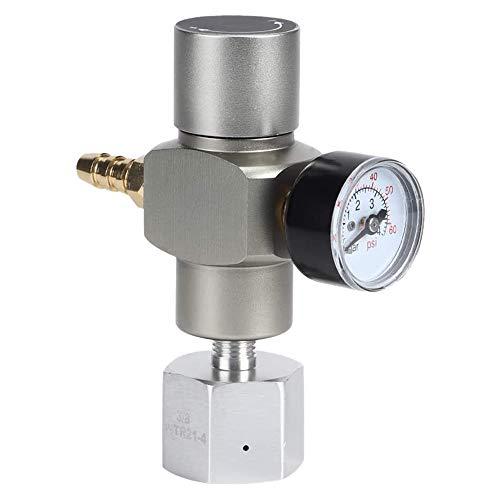 Kamenda Regulador de Gas CO2 2 en 1 Cargador de CO2 TR21X4 0-30 PSI Cargador de Barril para European Soda Stream Beer Kegerator
