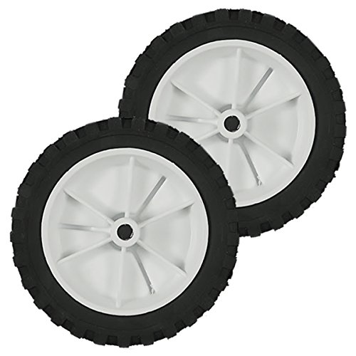 2PK Genuine OEM Toro CCR Power Clear Snow Blower Wheel 66-6510