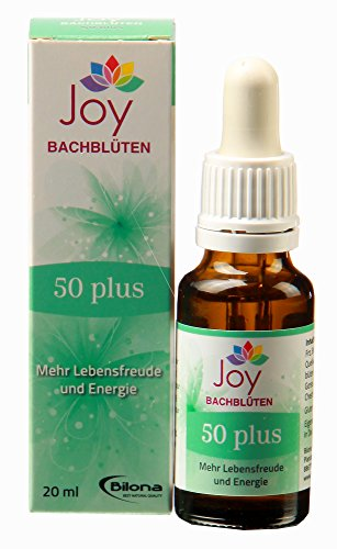 50plus - Bachblüten Komplexmittel, 20 ml Stockbottle