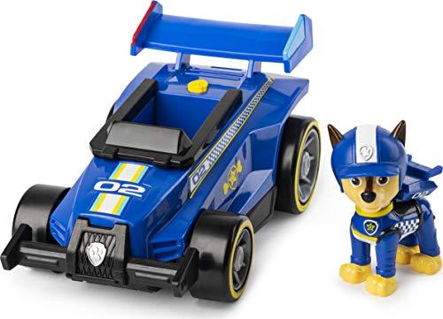 Paw Patrol Veicoli Ready Race Rescue, Veicolo di Chase con Suoni da Gara, dai 3 Anni