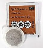 Café - DITARE KAFE - 75 Monodosis duras 44 mm.x 7g.- Natural de Agricultura Ecológica -Pack 3x25/u.-Total: 75 Unidosis. Compatible con cafeteras expres de brazo y aptas.