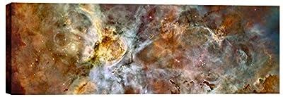 """Epic Graffiti""""Carina Nebula"""" Hubble Space Telescope Giclee Canvas Wall Art, 20"""" x 60"""" by Epic Graffiti"""