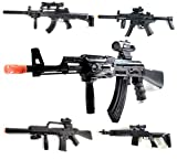 A&N Huge Saving Mega Bundle Deal Gift [5 Pack] Toy Gun Sound/Flash/Vibrate/Light