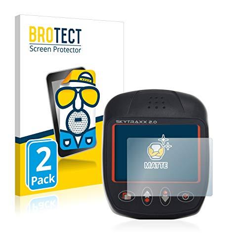 BROTECT 2X Entspiegelungs-Schutzfolie kompatibel mit Skytraxx 2.0 Vario Displayschutz-Folie Matt, Anti-Reflex, Anti-Fingerprint