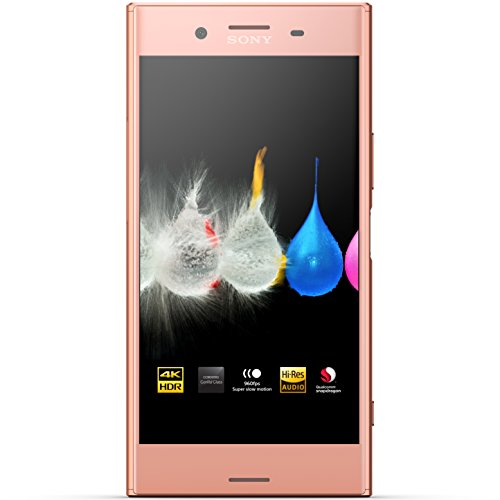 "Sony Xperia XZ Premium - Smartphone desbloqueado - 5.5"", 64GB - SIM dual - Rosa"