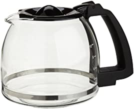 Capresso 10-Cup Glass Carafe with Lid for CoffeeTeam GS Coffee Maker,Black