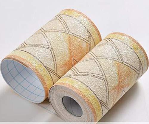 5M autoadhesivo impermeable PVC 3D papel pintado zócalo adhesivo pared rollos de papel de pared para sala de estar cocina baño azulejos
