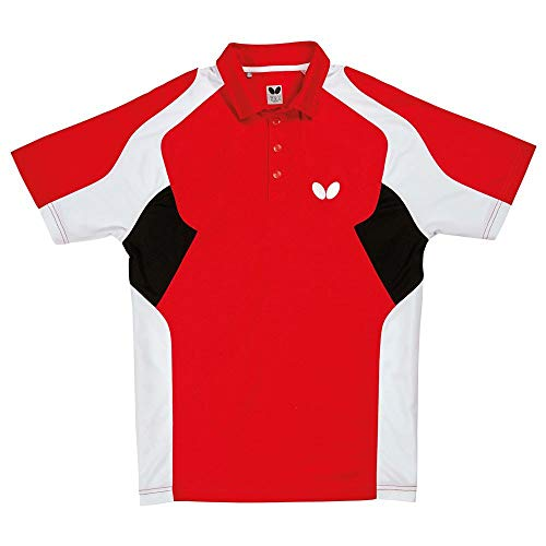 Buy Bargain Butterfly Shiro Table Tennis Shirt – Comfortable Stretch, Moisture Wicking Polo