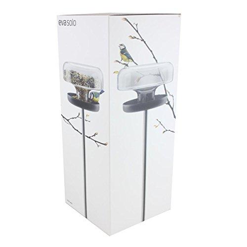 Eva Solo 571039 Vogelfutterstation, Volumen 2 l, Mit Spieß, Transparent/Schwarz - 5