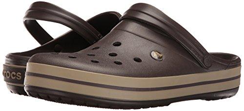 Crocs Unisex-Erwachsene Crocband Clogs, Braun - 12