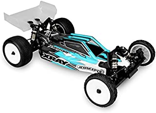 J Concepts 0323L F2 - Xray XB2 Clear Buggy Body with Aero Wing, Lightweight