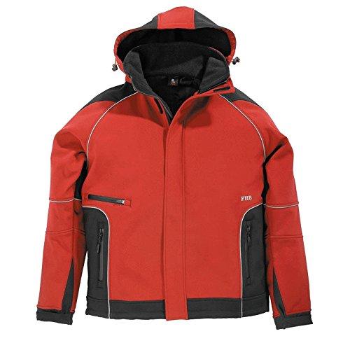 FHB 2067989 Softshell veste walter taille s en rouge/noir