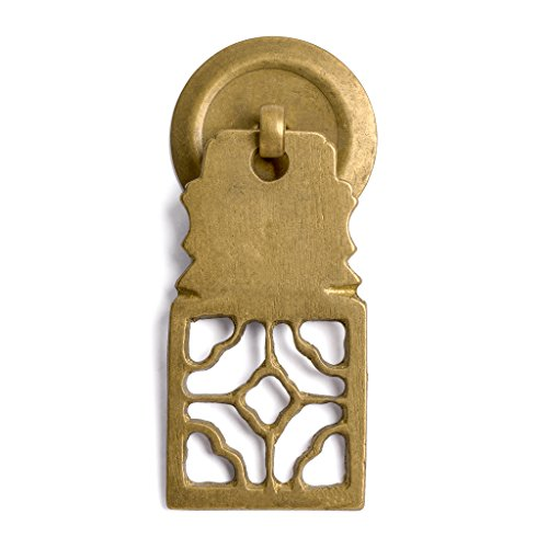 "CBH Symmetrical Brass Hardware Pulls 2.5"" - Set of 2"