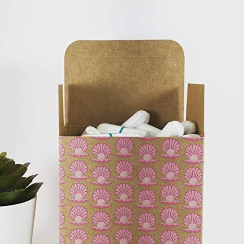 all good* Bio-Tampons |*all good, weil 100% zertifizierte Bio-Baumwolle |0% Plastikwollle | angenehmer Tragekomfort |hohe Saugkraft | pflanzlich und vegan |nachhaltig verpackt in Designverpackung