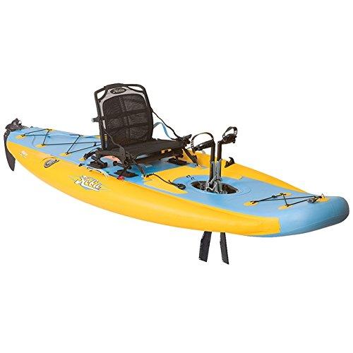 Hobie Mirage i11S Inflatable Kayak - Mango/Slate