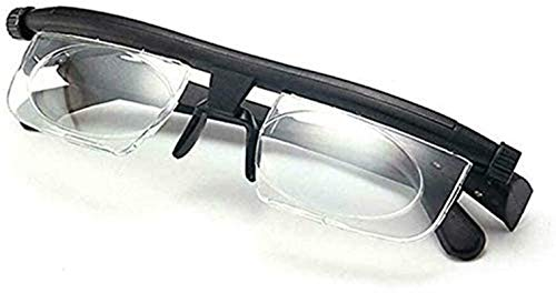 AIENSITAN Dial Adjustable Glasses Variable Focus, adjustable lenses for hyperopia and nearsightedness focal length
