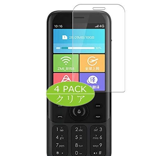 VacFun 4 Piezas HD Claro Protector de Pantalla para Xiaomi ZMI Z1, Screen Protector Sin Burbujas Película Protectora (Not Cristal Templado)