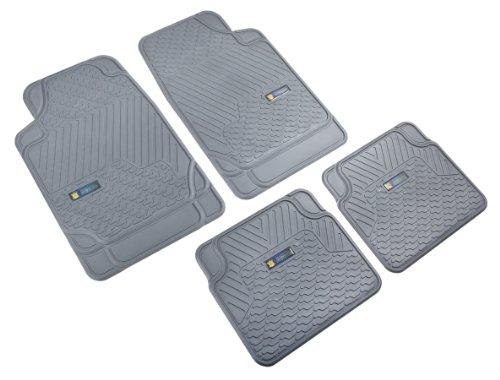 Highland 4547900 Weather Fortress Gray Synthetic Rain Floor Mat - covid 19 (4 Piece Carpet Mat coronavirus)