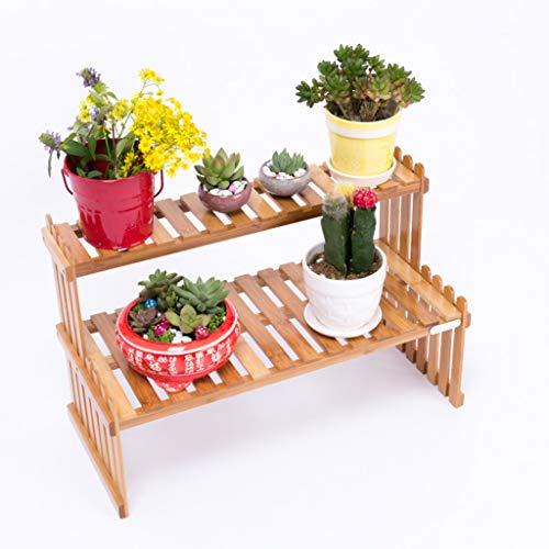 XIN Jardin Stand De Fleurs Support De Pot De Fleur Bibliothèque En Bois Bureau Bureau Rebord De Fenêtre Mini Étagère Décoration