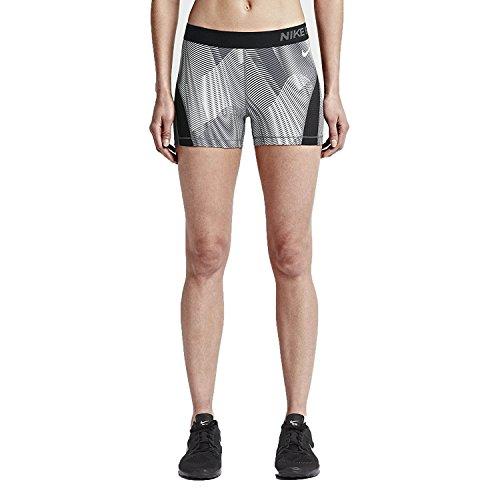 Nike Damen Hose Pro Hypercool Frequency Trainingstight Damen, schwarz/grau, M - 40/42, 725612-010