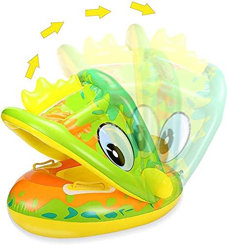 Anillo de natación Inflable para bebé,Asientos de Natación para Bebés,Anillo de Natación Inflable,Apto para niños de 6 a 36 Meses,Flotador De Natación para Bebés,Anillo de Natación