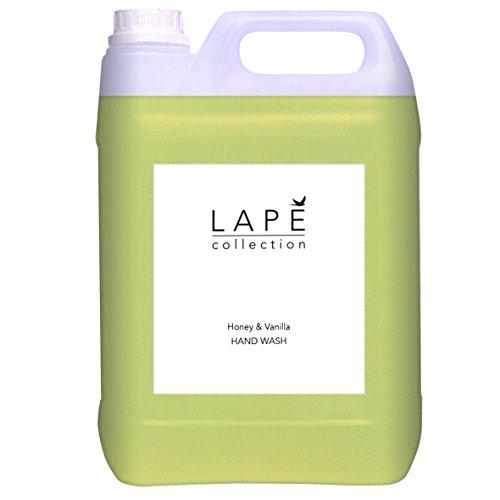 Diversey 100934577 LAPĒ Collection Honey und Vanilla Großverpakkung Handseife mit edles Design, Honig-Vanille Duft, 5 L