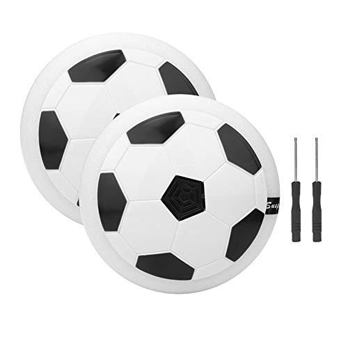 CHENGGONG Juguetes de fútbol con cojín de Aire para Interiores Seguros e inofensivos para niños Juguete de fútbol para Interiores, balón de fútbol Air Power, para niños de Interior al Aire Libre