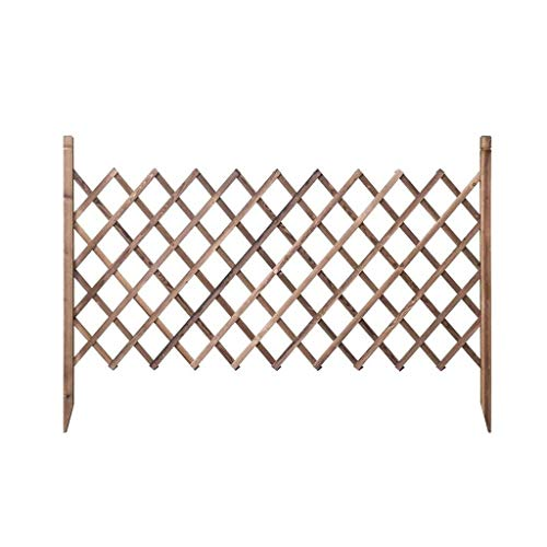 Garden fencing panels Fence Wooden Climbing Plant Helps Trellis Pet Nursery Fence Guardrail Outdoor Garden Fence Pet Fence Grid Expandable 125 * 175cm