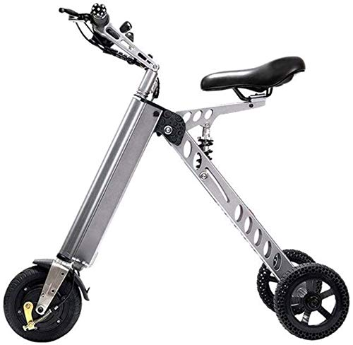 Bicicleta de montaña eléctrica, Bicicletas eléctricas rápidas for adultos portátil pequeño eléctrico de la bici adulta bicicleta plegable Scooter eléctrico pequeño Mini eléctrico triciclo Mujer bici d
