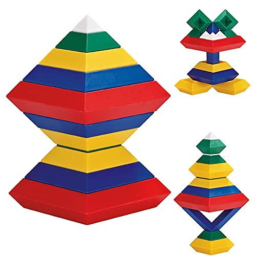 Richgv Mini Building Blocks, Cadeaux de Luxe pour Les Enfants, Blocs de Construction, créatif et éducatif pour Les Enfants 15 pièces....