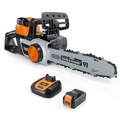 TECCPO Cordless Chainsaw