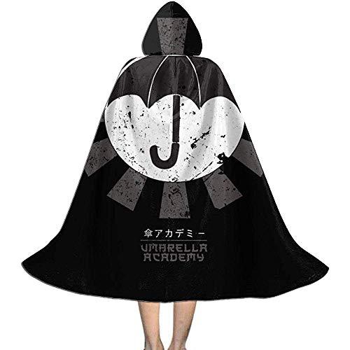Not Applicable Zauberer Mantel,Regenschirm-Akademie Retro Japanische Weiche Bequeme Hexen-Umhang-Umhänge Für Die Familie Freund-Versammlung 88cm