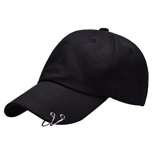 Ksell Baseball Kappen Mode Cap Hut Unisex Damen Herren BTS Stickerei Ringe Baseball Cap KPop Hip Hop Bangtan Männer Casual Einstellbare Trucker Hat