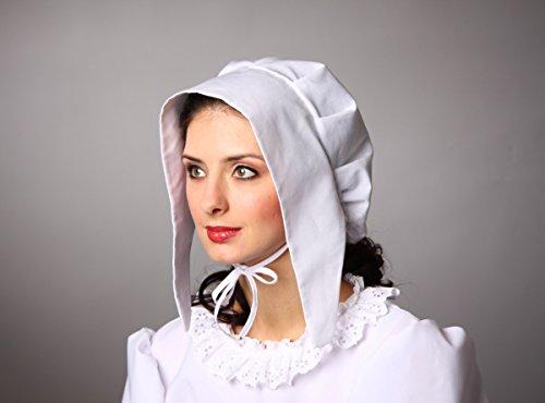 Hotte femme médiévale, blanc