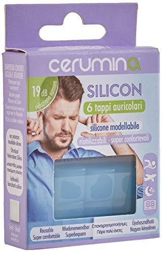 Cerumina Tappi Auricolari Silicon 6 Pezzi - 1...