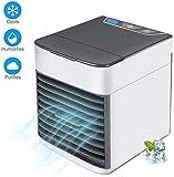 WWL Refrigerador de Aire portátil, Mini refrigerador de Aire de Uso doméstico USB de la Segunda generación del Aerosol del Ventilador