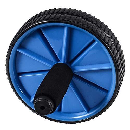 NDY Core und Bauch Trainer Rad Sportgeräte Core Training Silent Wear Imitation Reifentextur Männer und Frauen,Blue