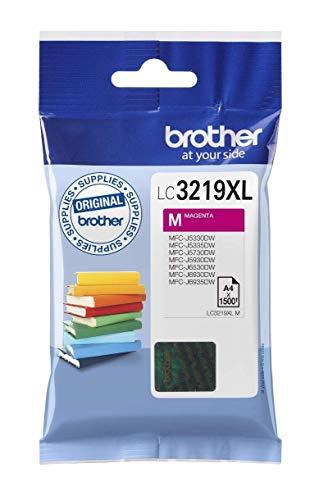 Brother LC3219XLM |cartouche d'encre originale | Magenta