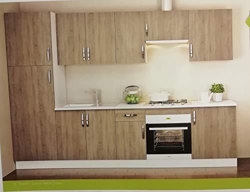 TRADEDEKOR Cocina Completa DE 3 m EN Muebles Kit MODULARES, Gran RELACION Calidad/Precio