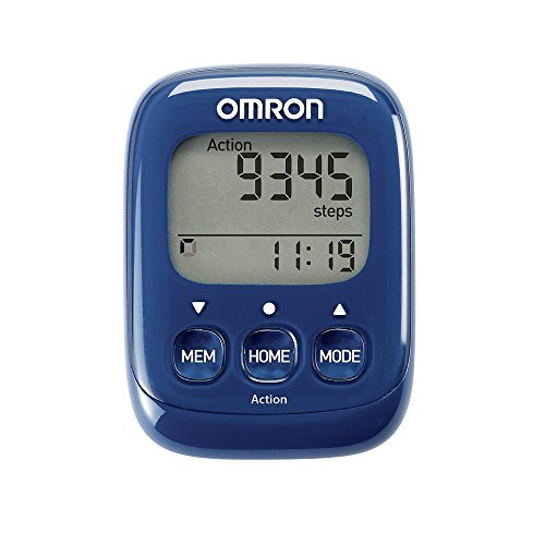 Omron HJ325-EB Blue Walking Style IV Step Counter Original