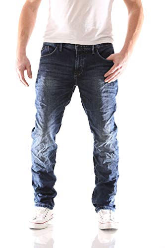 Big Seven Morris Night Blue Regular Herren Jeans, Hosengröße:W42/L34