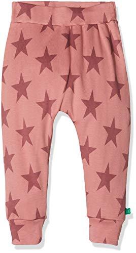 Fred'S World By Green Cotton Star Pants Pantalon, Rouge (Dream Rose 018143501), 98 Bébé Fille