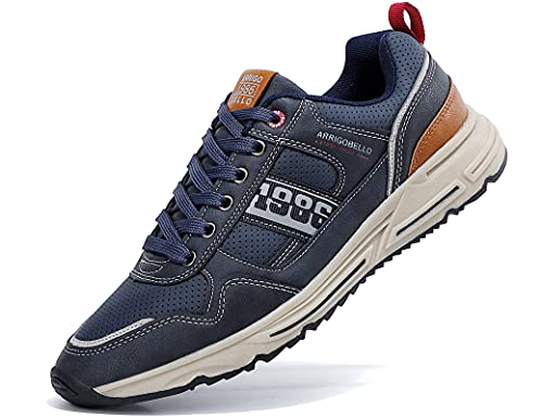 AX BOXING Freizeitschuhe Herren Sneaker Schuhe Walkingschuhe Mode Leichte Sportschuhe Größe 41-46