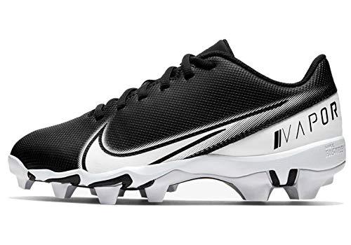 Nike Vapor Edge Shark 4 Boys' Grade School Football Cleat Big Kids Cd0077-001 Size 4 Black/White