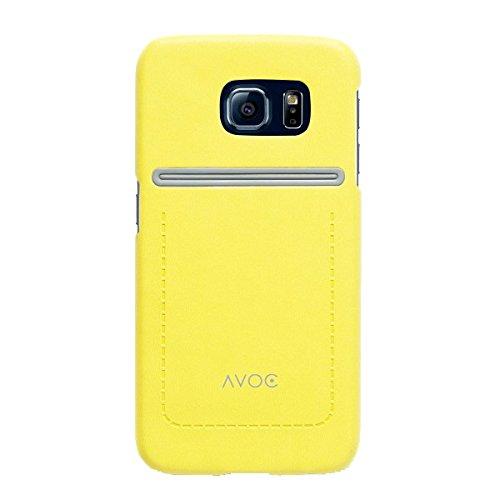 Zenus Avoc Dolomiten Bar Carcasa para Samsung Galaxy S6 SM-G920F - Amarillo